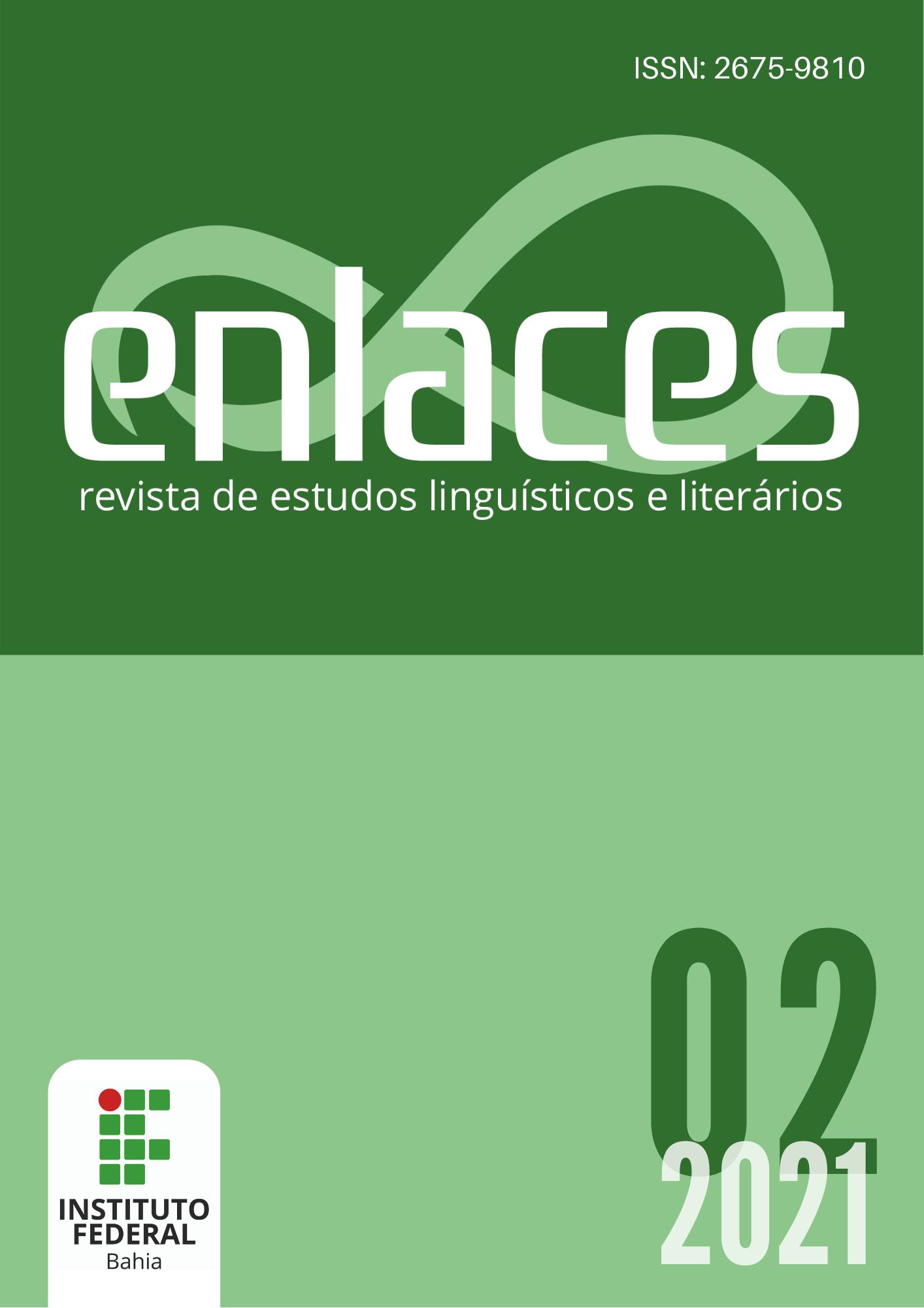 Capa do volume 2, ano 2021
